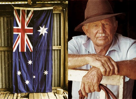 """R.M. Williams; the driving force behind """"The Stockmans Hall Of Fame"""", Longreach, Queensland. R.M. also has a major Boot and """"outback"""" clothing company"""