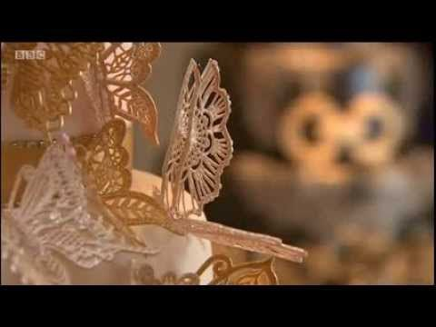▶ Cake Lace & The Cake Decorating Company on BBC News - YouTube