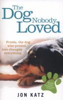 """""""""""I had no idea that Frieda would enter my life and alter it in the most profound way, but that's one of the beautiful things about animals...."""