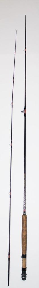 Cortland Leon Chandler G-203 Custom Graphite Fly Fishing Rod Pole #6 Fish 2pc #Cortland #fly #fishing #rod