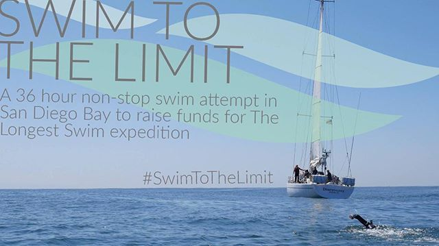 We are so excited about our #swimtothelimit event next week. Ben will be attempting a 36 hour non stop swim to raise funds for our Kickstarter Campaign. Check out Facebook and Kickstarter Live for all the live action. #thelongestswim #swimtothelimit #marineconservation #sea #saveouroceans #swimmer #ocean #sandiego #supportusonkickstarter #kickstarter #kickstarterlive #plasticocean #sandiego #sandiegoconnection #sdlocals #sandiegolocals - posted by Ben Lecomte…