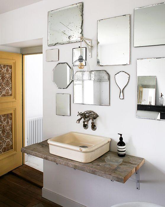 Salle de bain campagne vi... - michele | Bauernhaus | Pinterest ...
