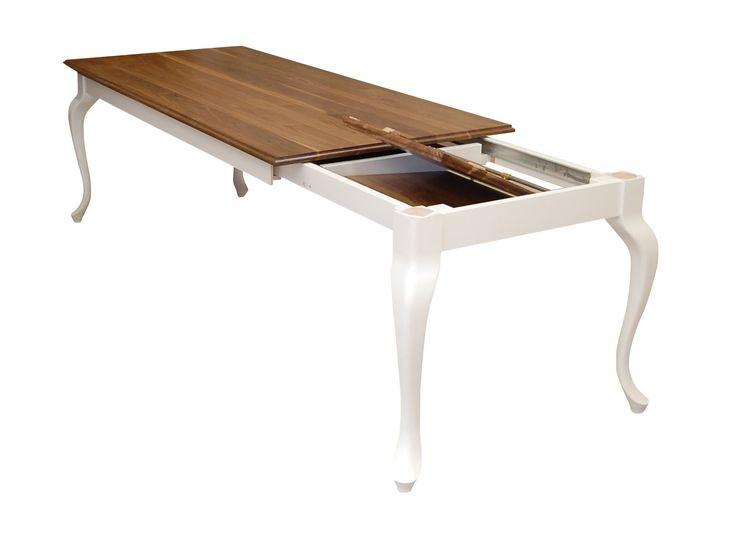Für Ihr Esszimmer Jetzt Tisch, Esstisch Aus Amerikanischen Nussbaum  Ausziehbar Direkt Vom Hersteller Erwerben