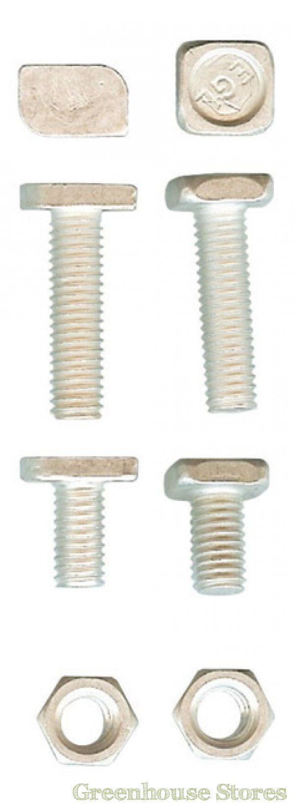 Elite Greenhouse Nuts And Bolts   http://www.greenhousestores.co.uk/Elite-Nuts-and-Bolts-Full-Head-22mm-Pack-of-50.htm