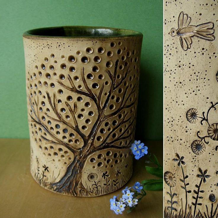 Splintered arts a pot and two bowls unbedingt pinterest - Decoration jardin exterieur poterie ...
