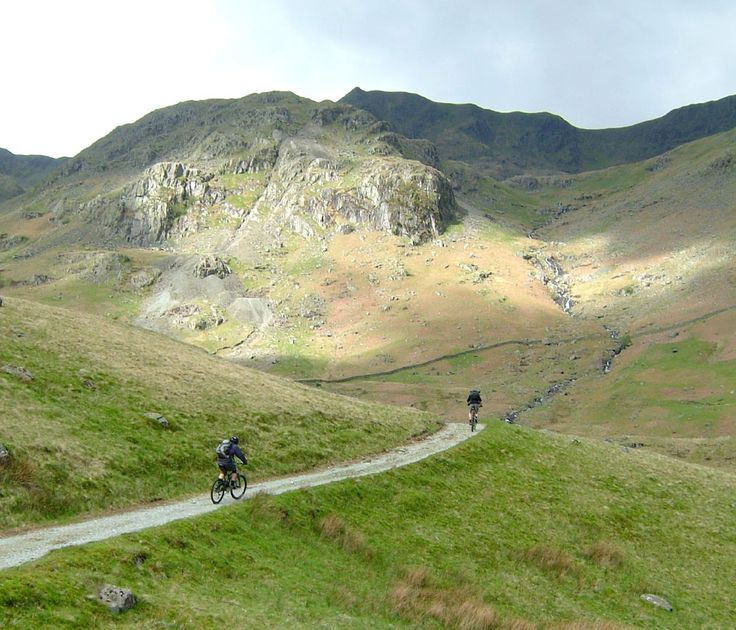 Lake District Mountain Biking Helvellyn