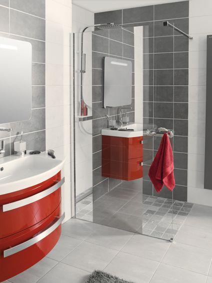 Les 20 meilleures id es de la cat gorie d coration salle de bain rouge sur pinterest for Decoration salle de bain rouge