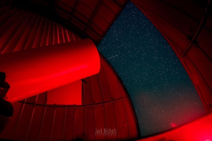 """Scope""  Inside one of the observatory domes at the awesome Pine Mountain Observatory in Central Oregon. The red lights help preserve everyone's night vision.  In the summer these folks offer a public star party on Friday and Saturday nights that provide an excellent opportunity to view the night sky through several big telescopes. Unlike a lot of observatories they are set up for visual viewing which is something the whole family can enjoy.   #nature #pnw #pnwcollective #pacificnw #or…"