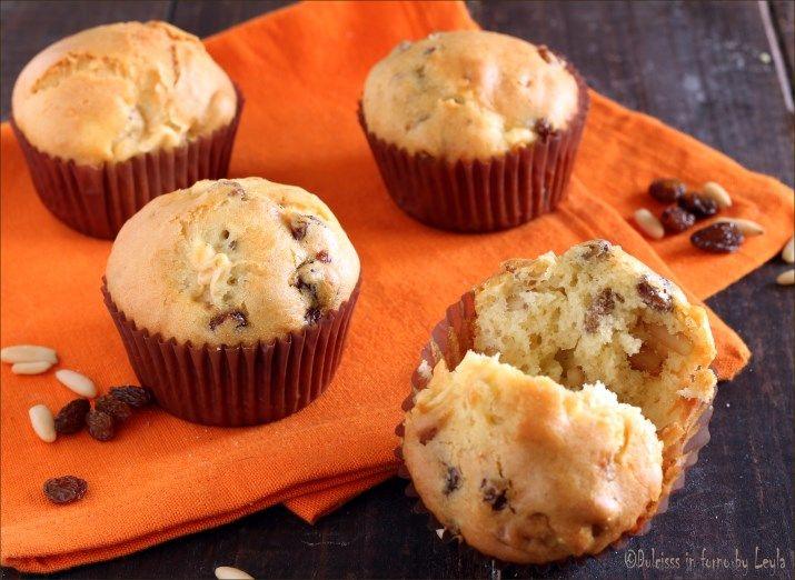 Muffin allo strudel, con mele, uvetta e cannella Dulcisss in forno by Leyla