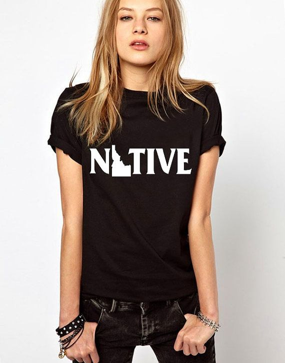 idaho shirt native shirt idaho state university by LovelyAngelica