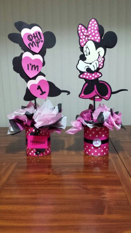 Minnie Mouse Centerpc idea
