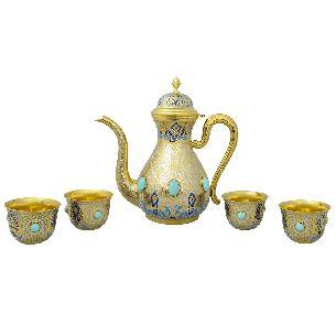 Чайный набор Утренняя роса - Наборы с блюдом <- Посуда <- VIP - Каталог | Универсальный интернет-магазин подарков и сувениров