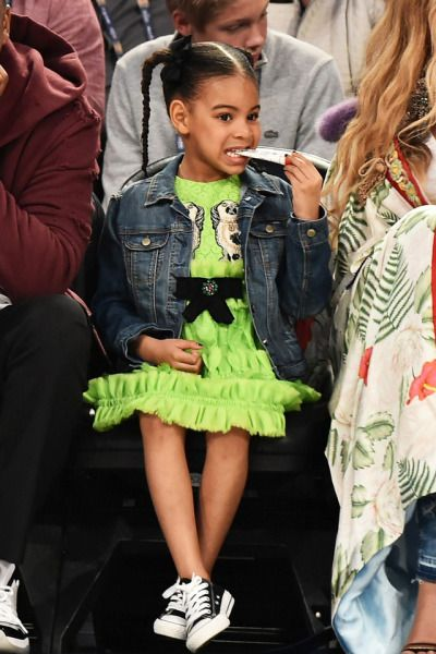 Blue Ivy at NBA All Star Game 2017