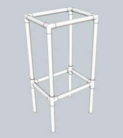 PVC Pipe plans for furniture, playhouse, paintbooth, decorations....