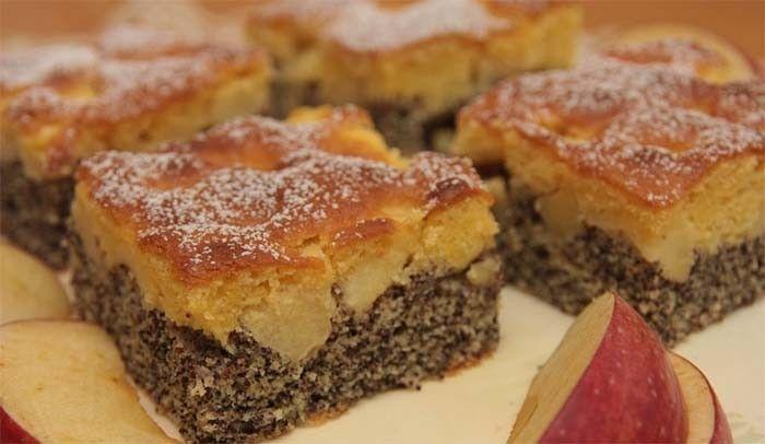 Kombinace máku s ovocem je neodolatelná. Vyzkoušejte tento skvělý recept na makový koláč s jablky. Mňam!
