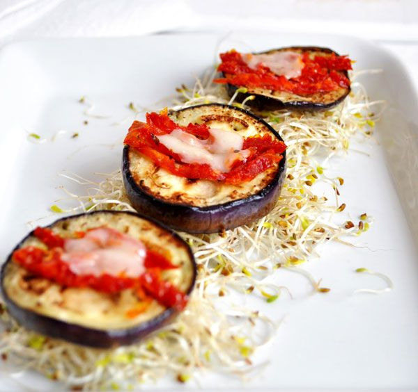 Recipe: Grilled Caprese Eggplants | eatwell101.com