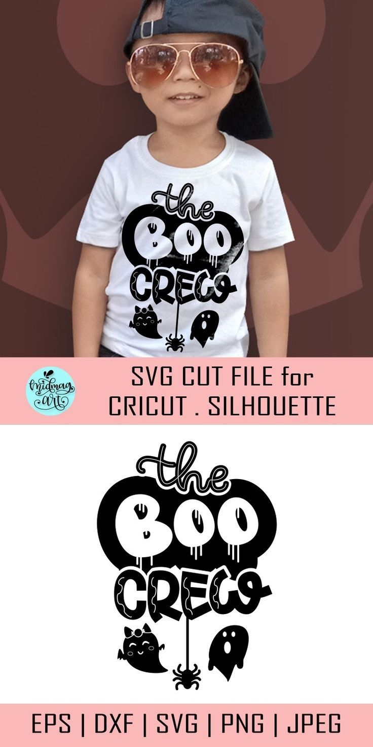 The Boo Crew Svg Boo Y All Svg Boo Svg Halloween Shirt Etsy Svg Kids Svg Cute Halloween
