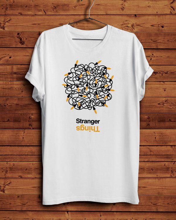 Stranger Things TShirt T-Shirt T shirt Camiseta Cotton tee Unisex All sizes White/Grey Helvetica Minimal Graphic Design Will 011 11 eleven de BagApart en Etsy https://www.etsy.com/es/listing/466123342/stranger-things-tshirt-t-shirt-t-shirt