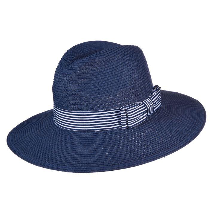 Callanan Safari Hat with Striped Band