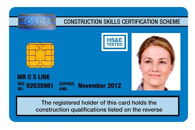 Cscs Gold Card >> The Green Card Provides Certification For Labourers The