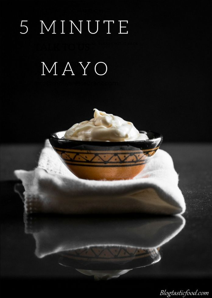 You think that mayo is difficult to make? Think again! If you have a food processor, this aioli sauce should take you no longer than 5 minutes to prepare. Don't believe me? Go get the recipe over at www.blogtasticfood.com