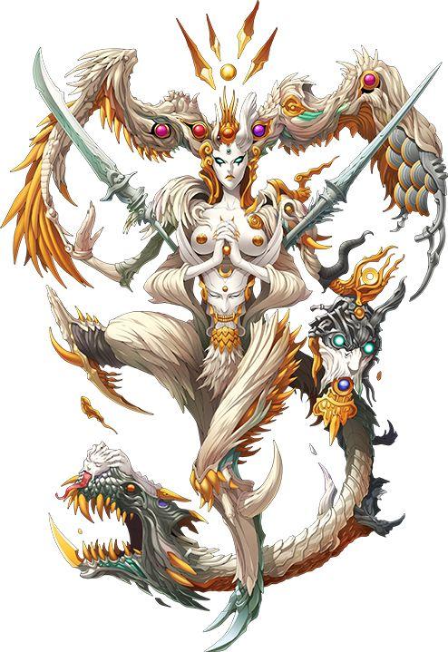 "estipse: "" ""Merkabah as they appear in Shin Megami Tensei IV Final "" """
