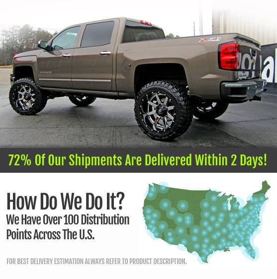 Chevrolet Silverado Wheels and Tires & Chevrolet Silverado Rims for Sale