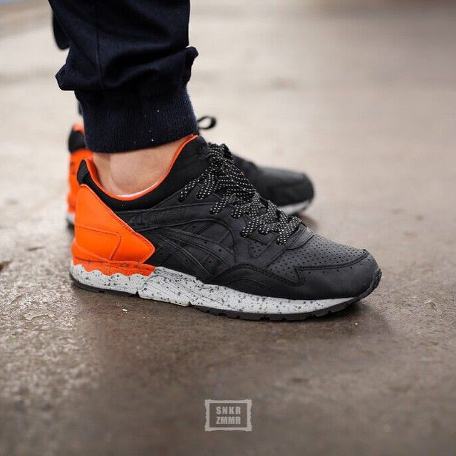 asics gel lyte v black cheap
