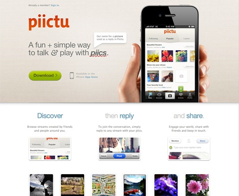 Landing Pages: What are the best landing pages for iPhone apps? - Quora
