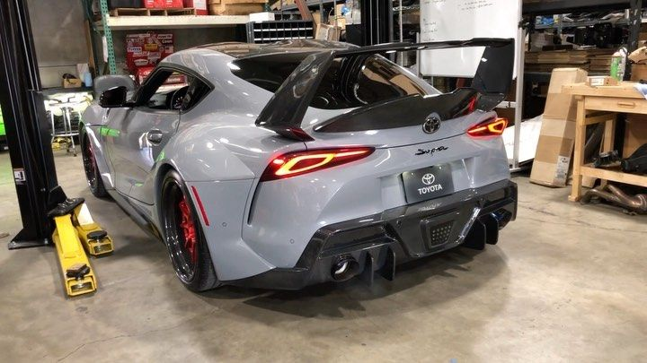 Boost Logic On Instagram Music To My Ears Sound Clips Of Our Sema Supra With Our Bl750 Turbo Kit Downpipe And Full Titanium E In 2020 Turbo Sound Clips Supra