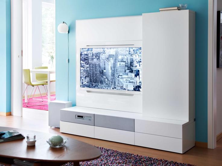 BEST Aufbewahrung Mit UPPLEVA 40 Fernseher