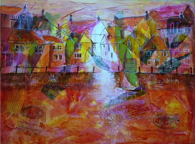 Cicelie Fry - Mousehole at Sunset - £80