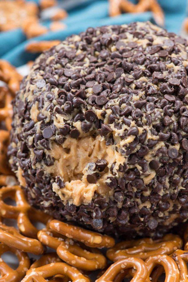Peanut Butter Cheese Ball Dip