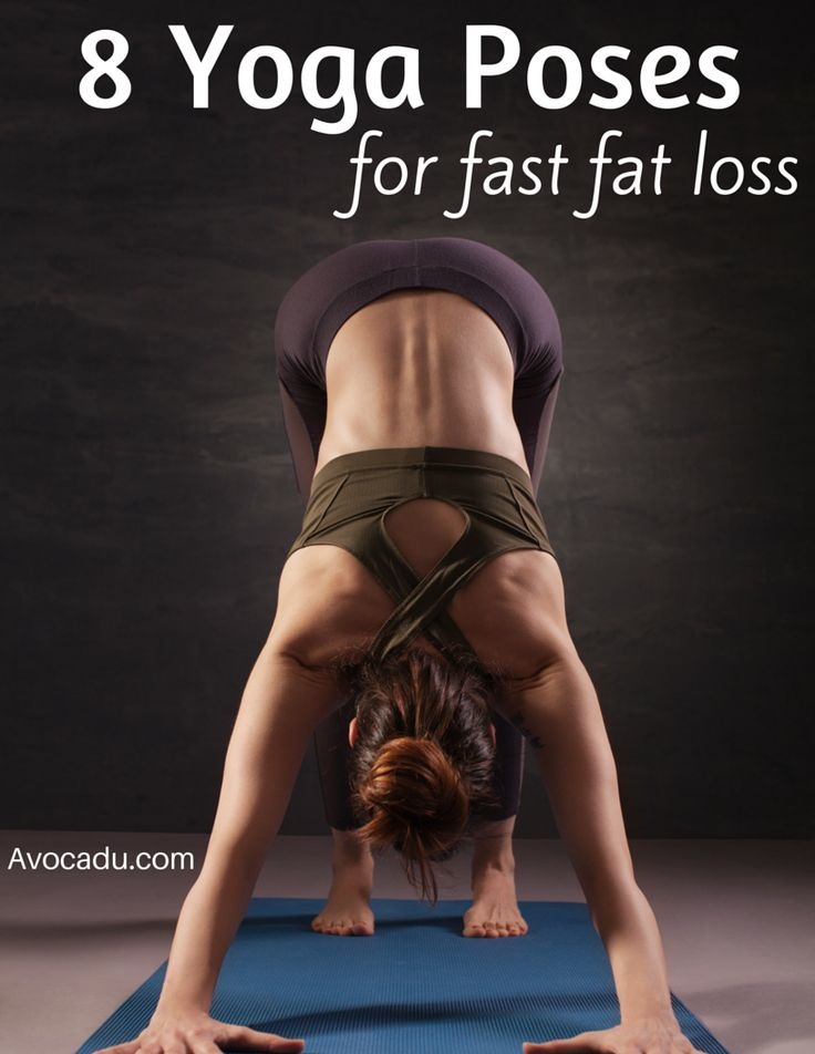 free weight loss yoga exercises