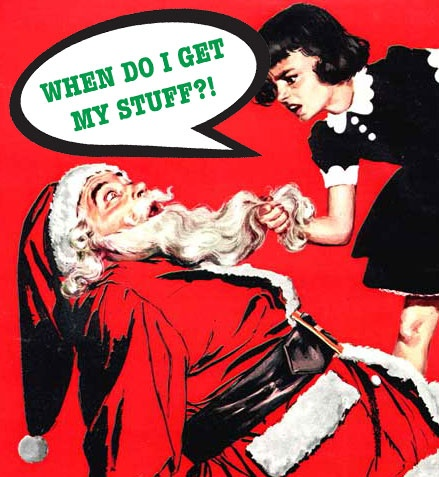 Don't let this be what your Christmas is all about.