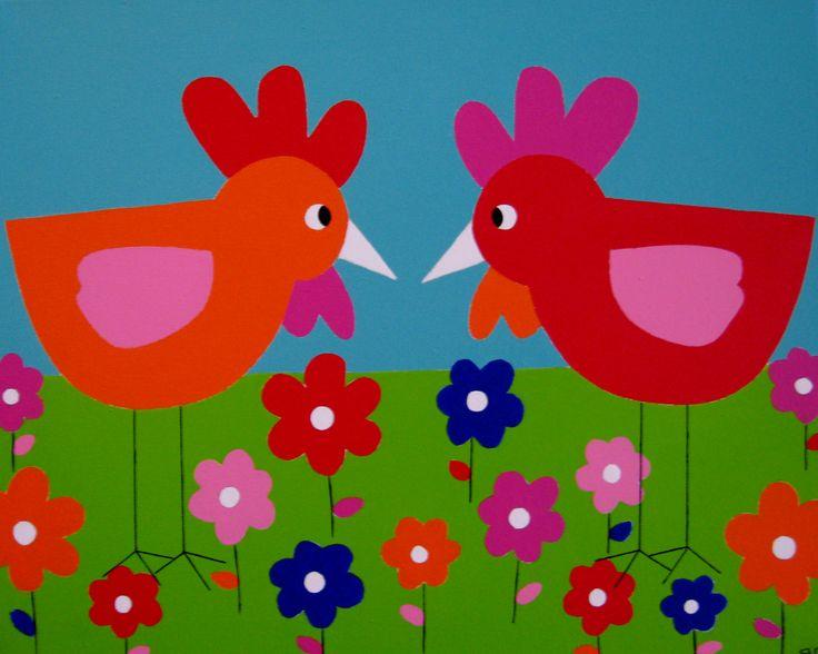 61 best images about kinderkamer schilderijen kinderkamer kunst on pinterest boats frogs - Babykamer schilderij idee ...