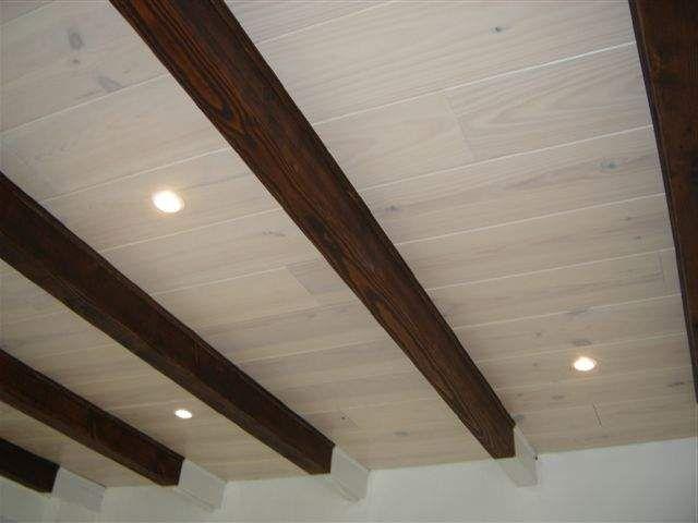 25 beste idee235n over houten plafonds op pinterest