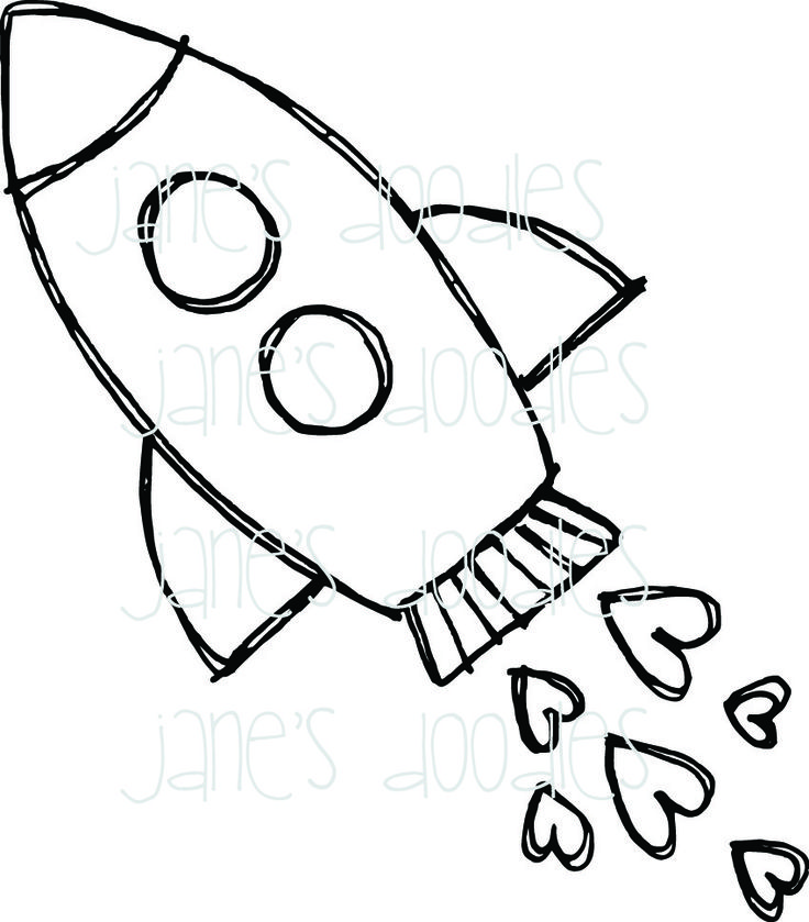 coloring pages rocket ship - Google Search                                                                                                                                                                                 More