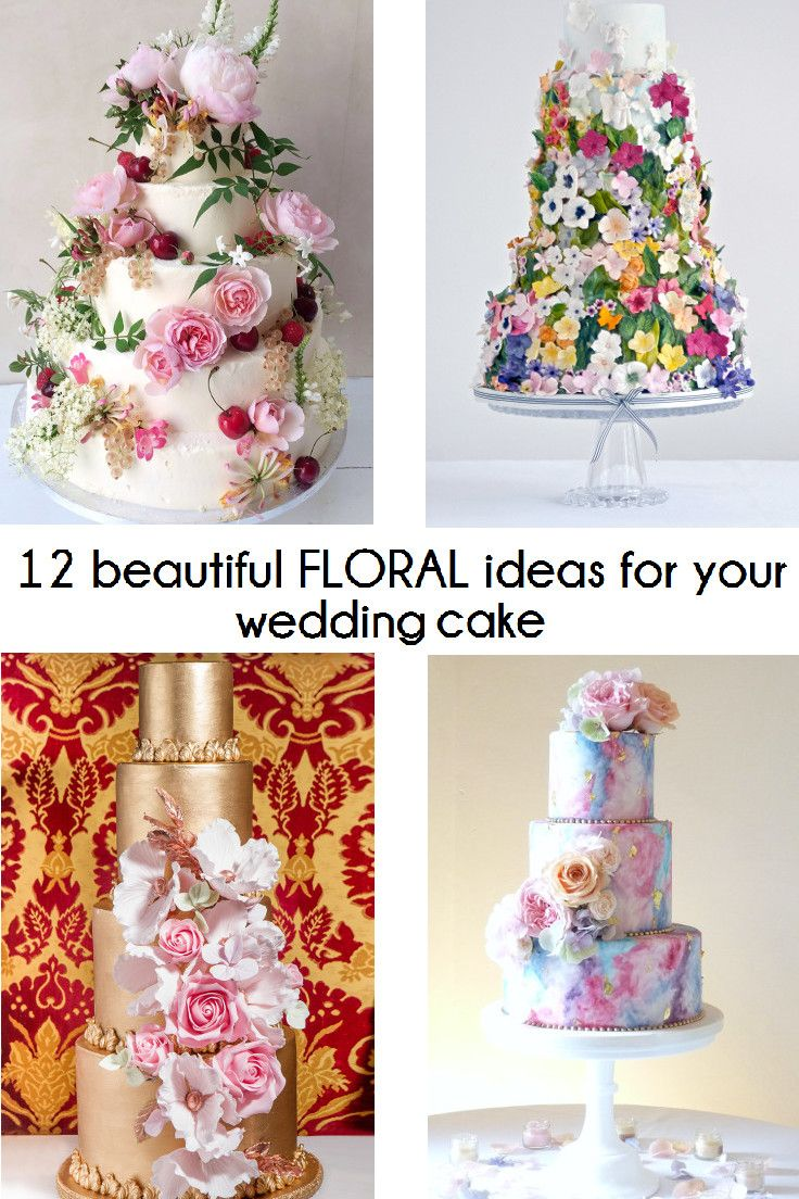 379 best A piece of (wedding) cake images on Pinterest | Cake ...