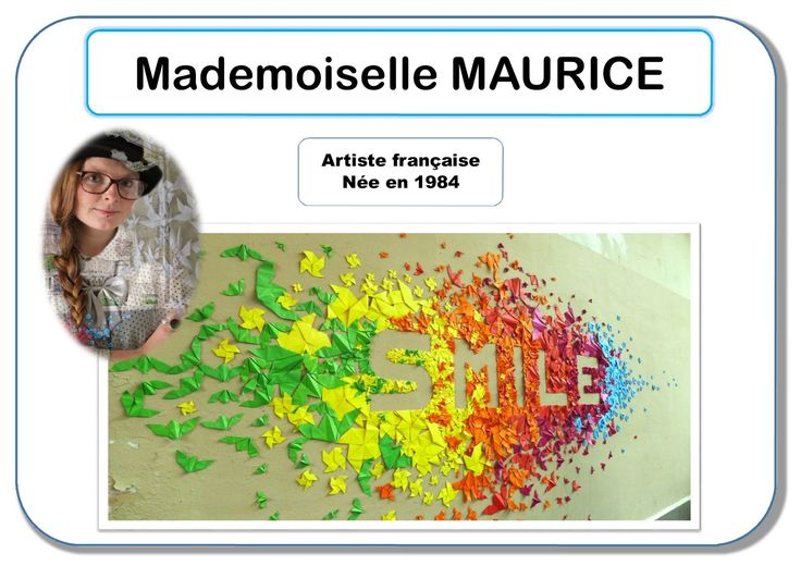Mademoiselle Maurice - Portrait d'artiste