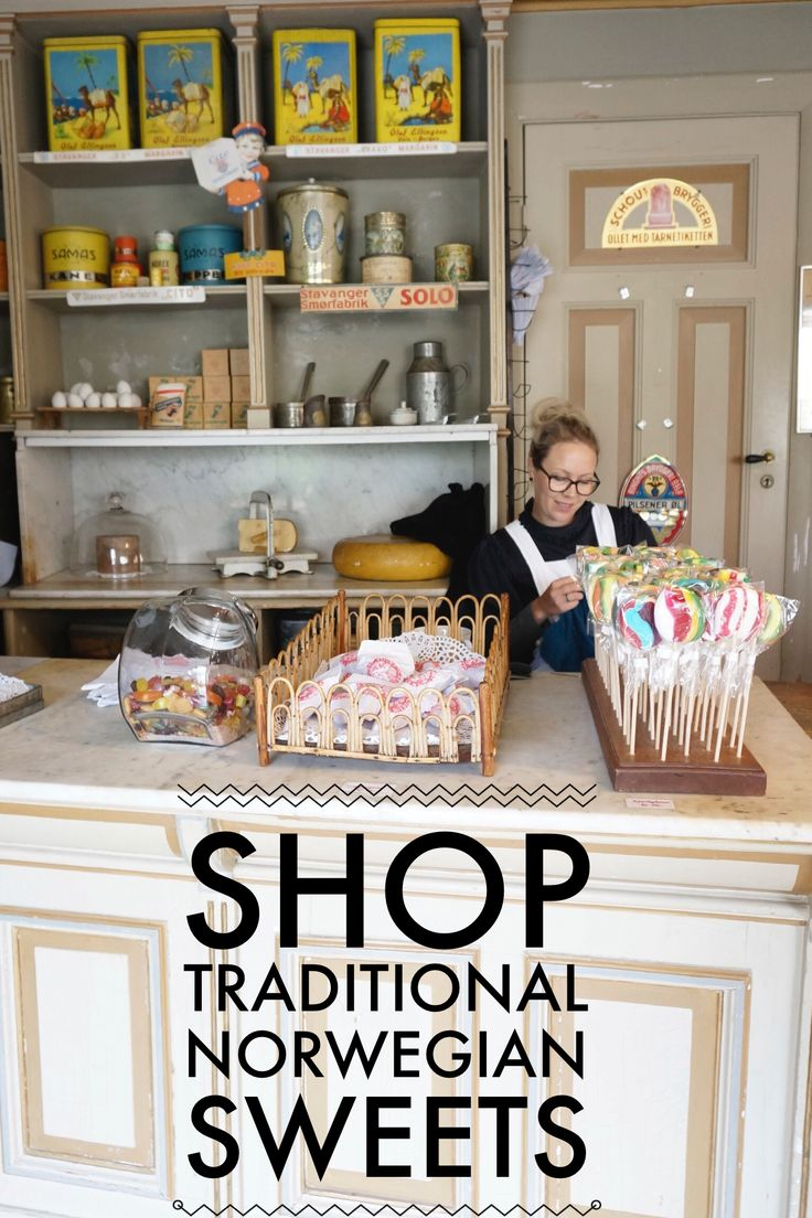 Shop traditional Norwegian sweets in Oslo- along with our favorite Oslo shopping picks.