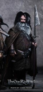 Wiliam Kircher as Bifur in The Hobbit