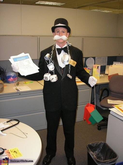 monopoly man halloween costume contest at