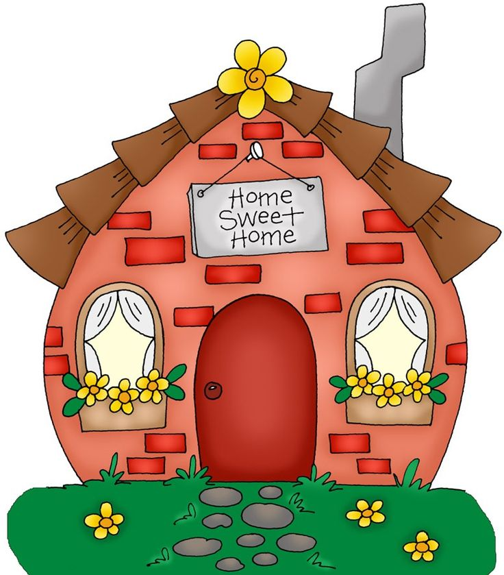 Best Clipart Maison Images On Pinterest Home Buildings And - New home clipart