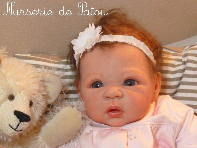 Carmen de Adrie Stoete - Nurserie Reborn de Patou, bébés passion