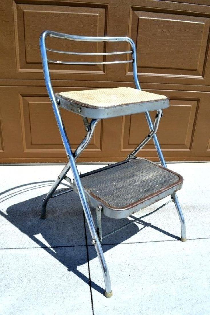 Fresh Folding Kitchen Step Stool With Seat Folding Step Stool