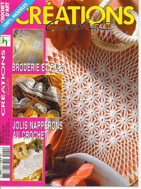 Мини-журнал: Crochet Creations №09 2002 (09-10) - Вяжем сети - ТВОРЧЕСТВО РУК - Каталог статей - ЛИНИИ ЖИЗНИ