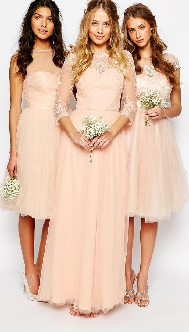 Vintage inspired bridesmaid dresses by Chi Chi London