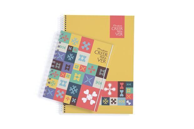 10 elegidos para la vuelta al cole  Creer para Ver. Cuaderno chico, $99 y cuaderno grande $125, Natura. Todo lo recaudado en la venta de esta línea es destinado a fortalecer proyectos educativos.