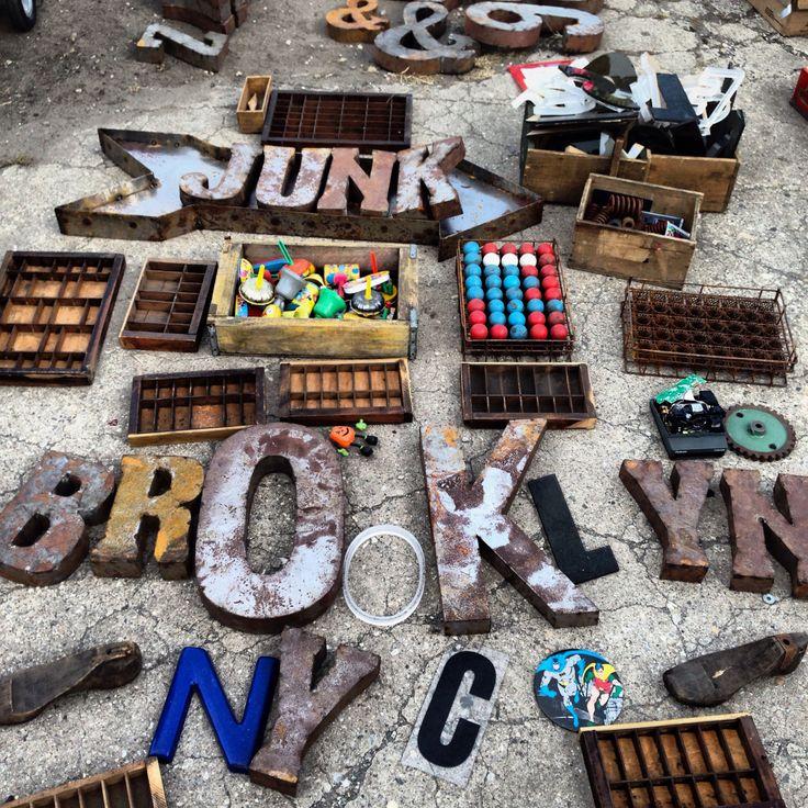 Brooklyn flea market, New York City, USA